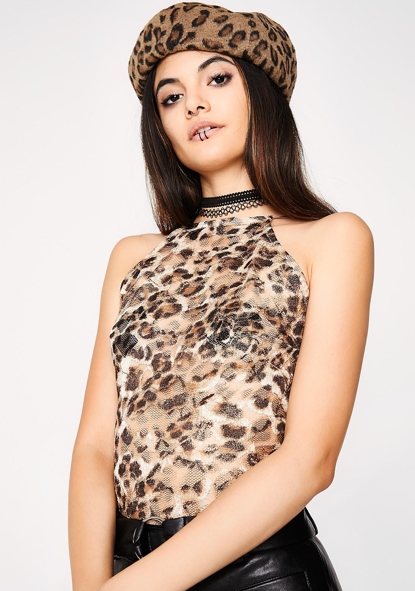 Spotted Kitty Bodysuit