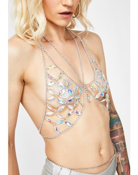 Jewel Me Up Bra Chain