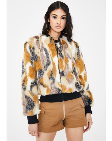 Sia Faux Fur Jacket