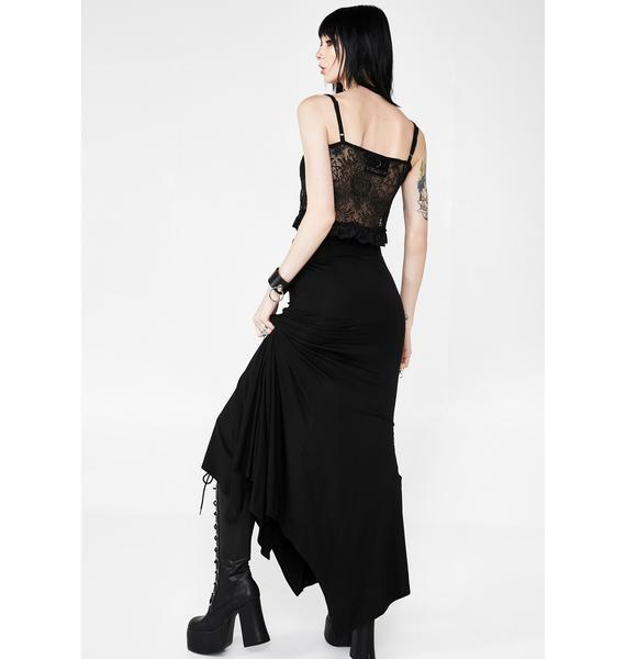 Killstar Mila Maxi Skirt