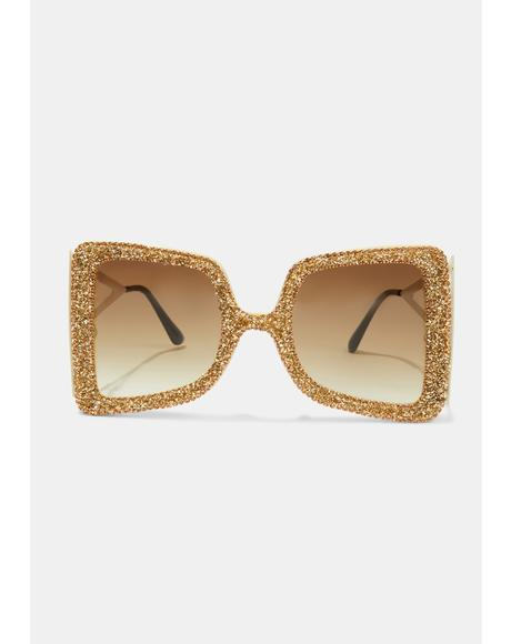 Ochre Act Fast Oversized Sunglasses