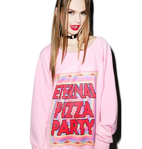 Pizza Party Crewneck