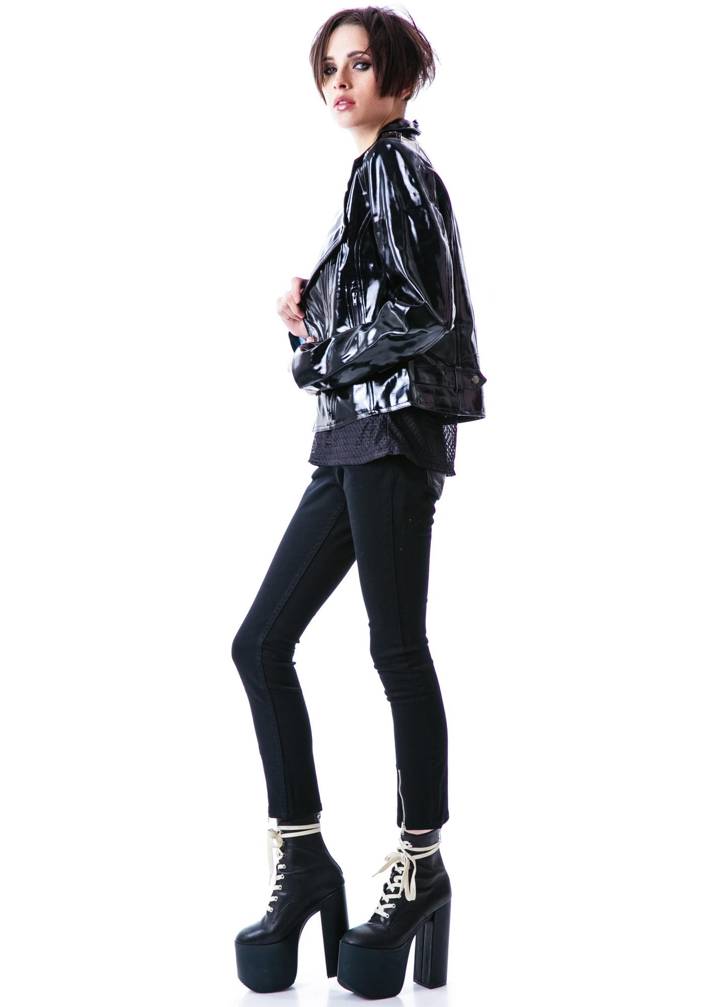 Evil Twin Deep End Biker Jacket