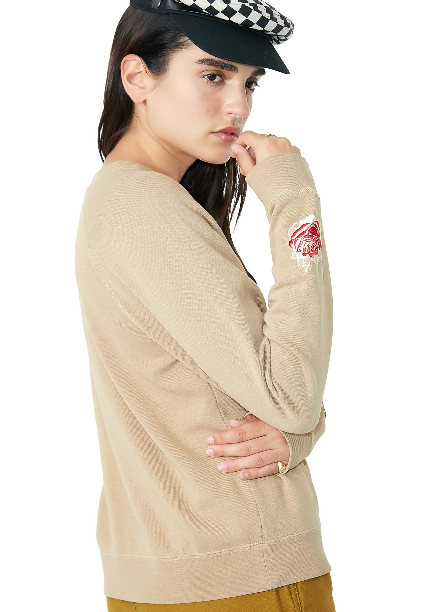 Obey Parkside Crew Sweater