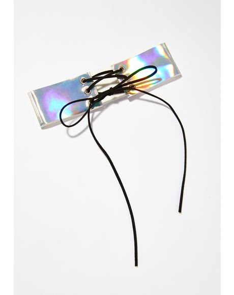 Cosmic Fetish Hologram Choker