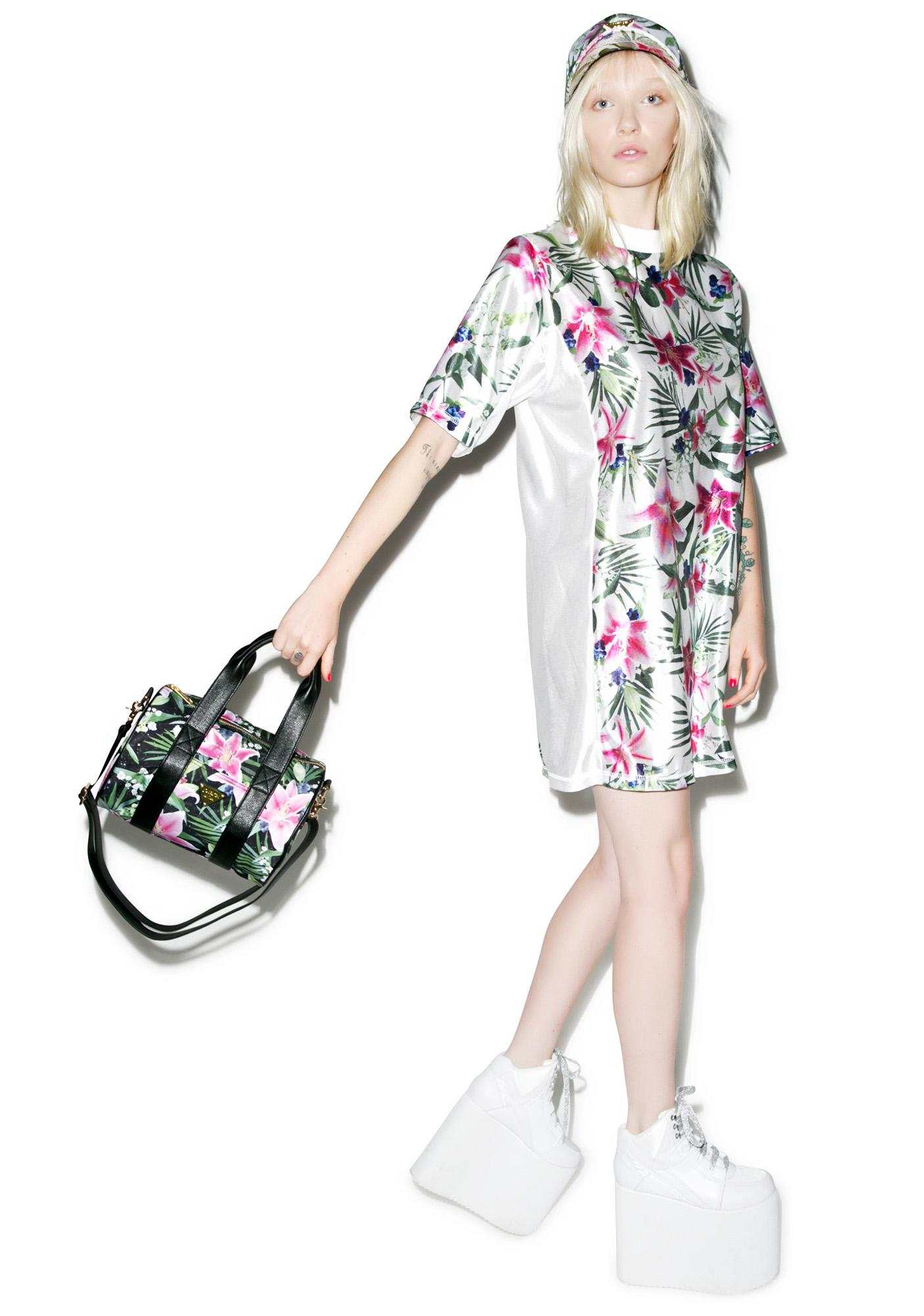 Joyrich Optical Garden Shoulder Boston Bag
