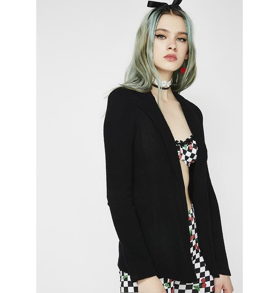 Working Woman Knit Blazer