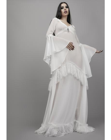 End Of Days Chiffon Maxi Dress
