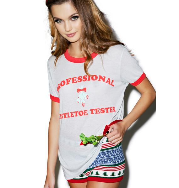Wildfox Couture Trust Me, I'm A Professional Vintage Ringer Tee