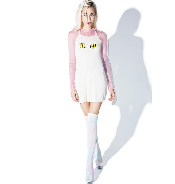 O Mighty Kitty Kat Halter Dress