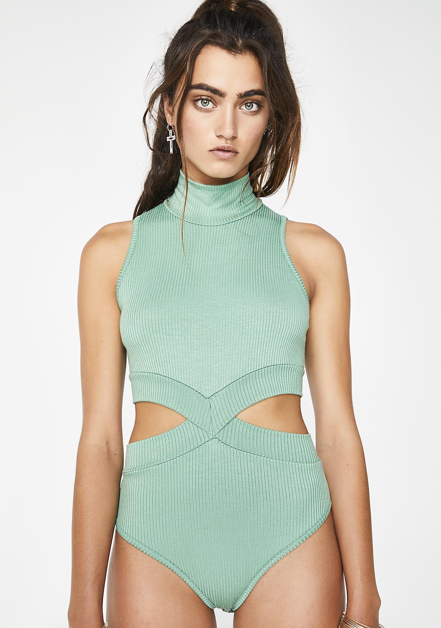 Kush Euphonic Tonic Cutout Bodysuit