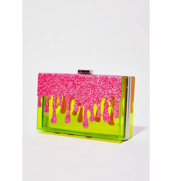 Current Mood Drippin' Slime Transparent Bag