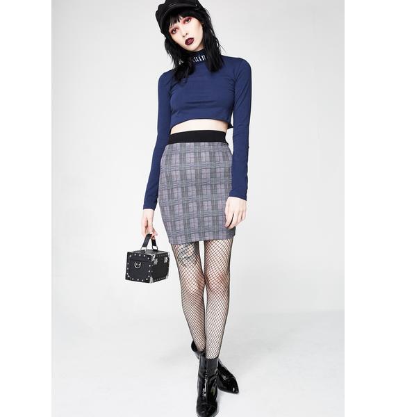 Show Class Plaid Skirt