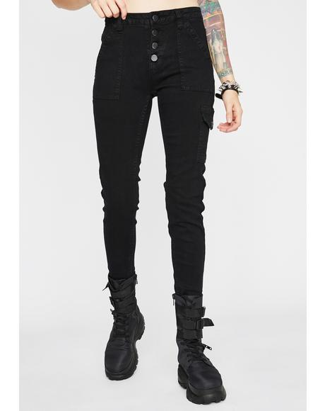 Dark Hard Choices Cargo Pants