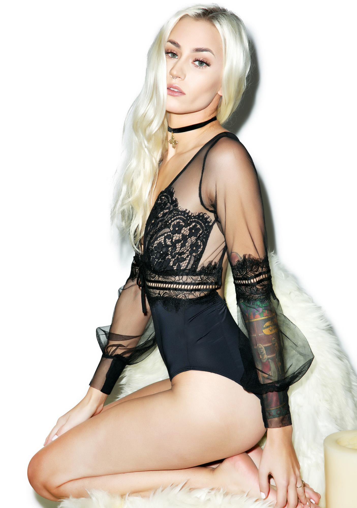 For Love & Lemons Alexa Bodysuit