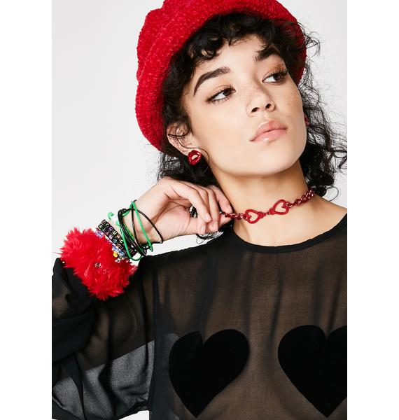 Locked In Love Choker