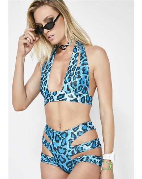 Sparkle In Heat Cheetah Set