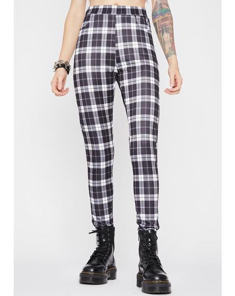 No Compromise Plaid Pants