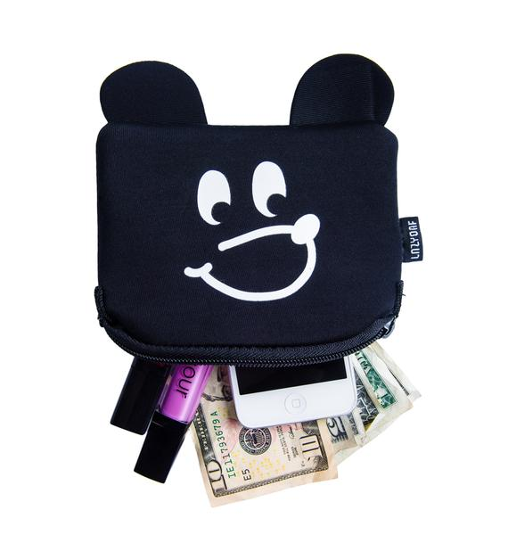 Lazy Oaf The Bear Face Purse