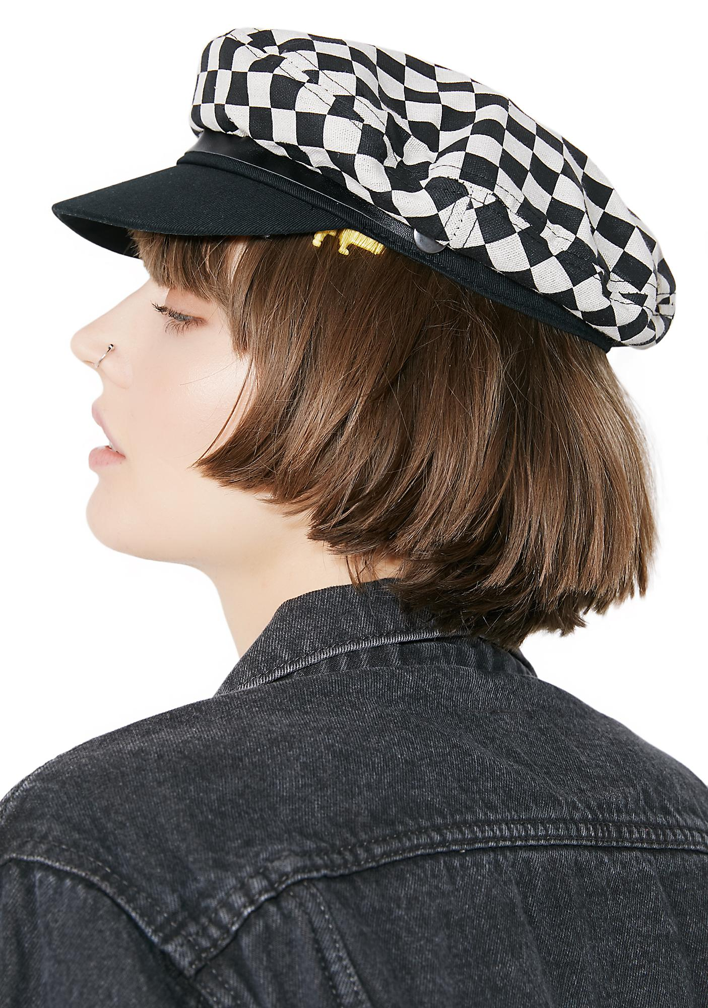 Valfré Exclusive Checkered Toni Hat