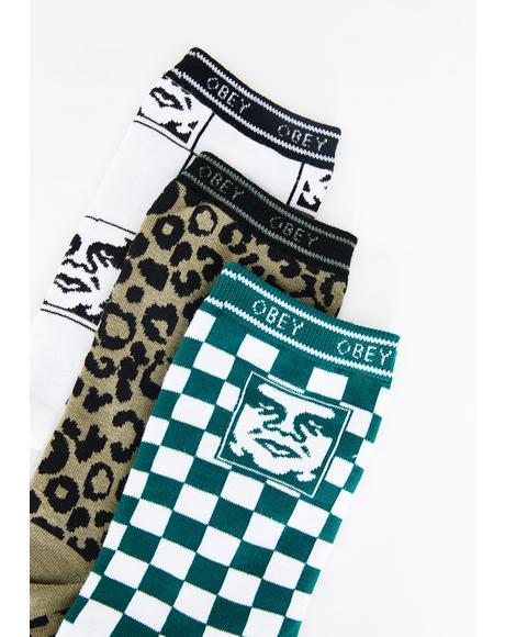 Floyd 3-Pack Socks