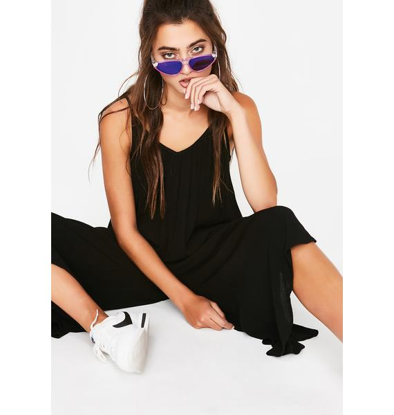 Straight Chillin' Harem Jumpsuit
