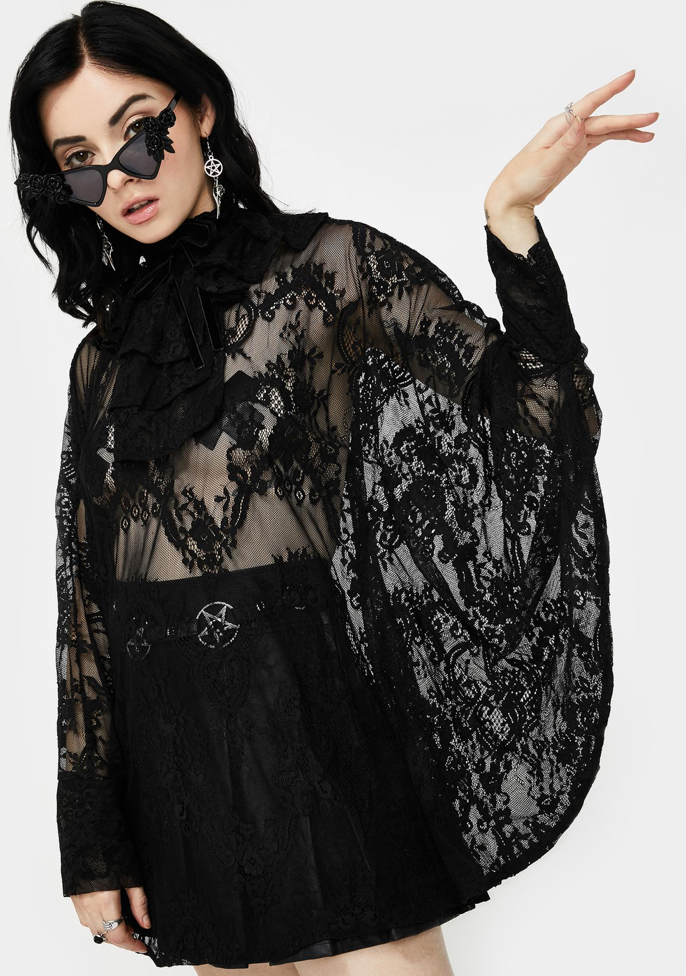 Killstar Immortal Beauty Lace Tunic