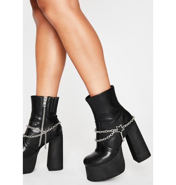 Starlight Seduction Shoe Chains