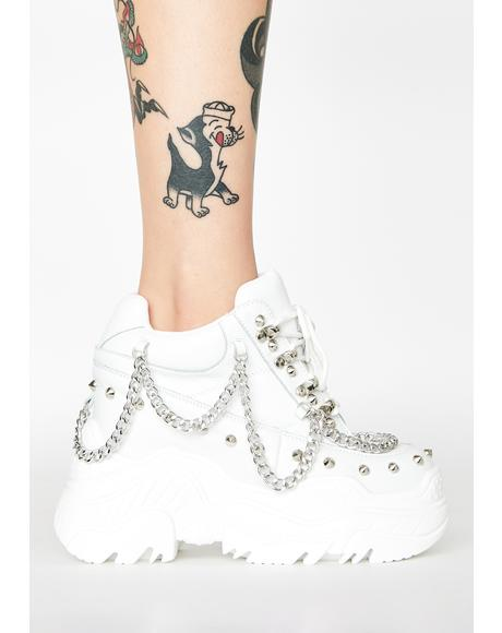 Pure Space Candy Platform Sneakers