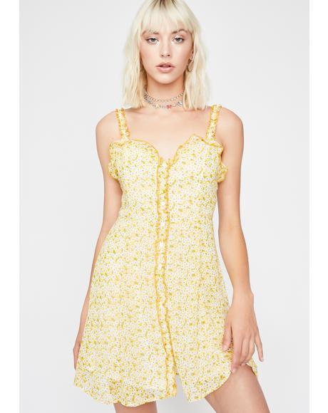 Daisy Delight Mini Dress