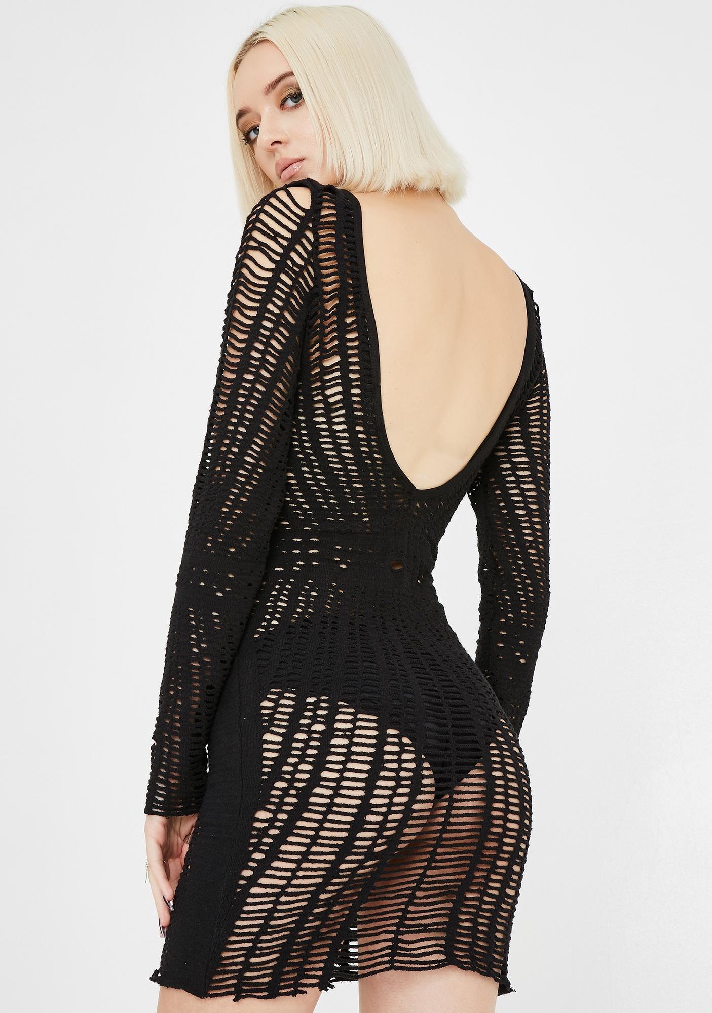 Kiki Riki Risque Rampage Mesh Dress