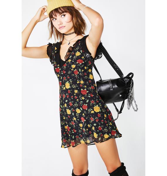 Current Mood Fall Fling Floral Dress