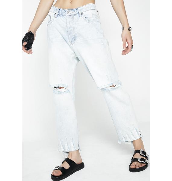One Teaspoon Brando Hooligans Low Waist Relaxed Jeans