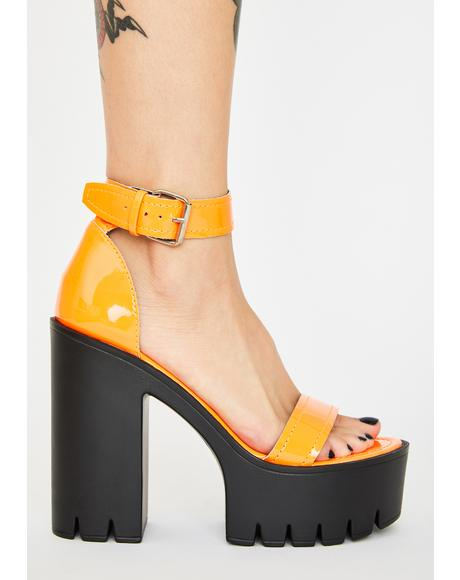 Juiced Stormi Sinna Platform Heels