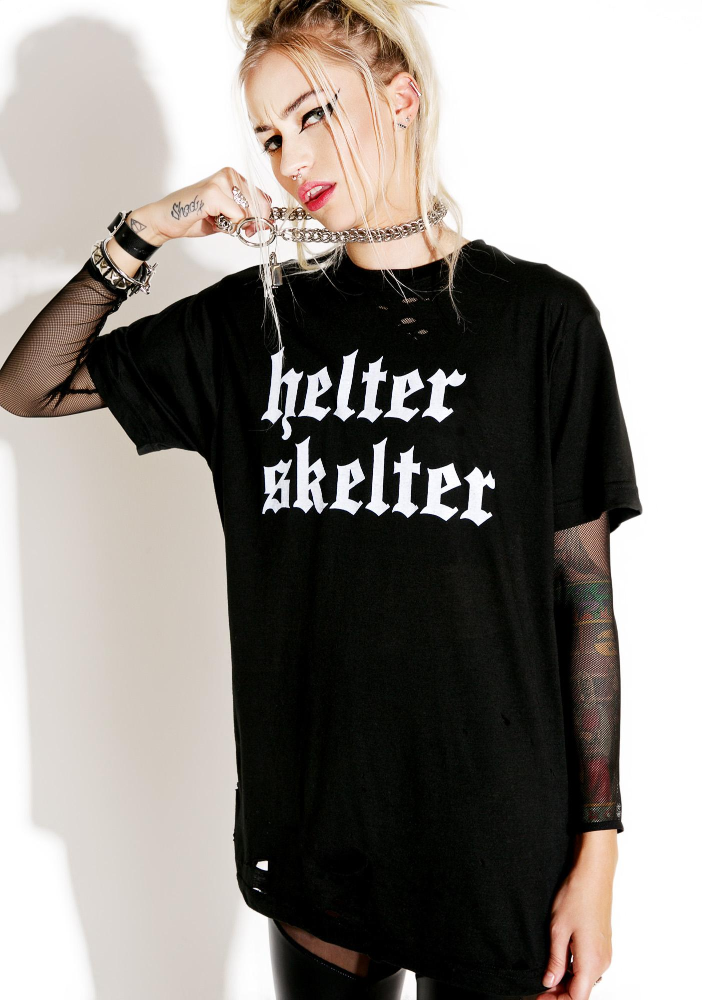 Local Boogeyman Helter Skelter Tee