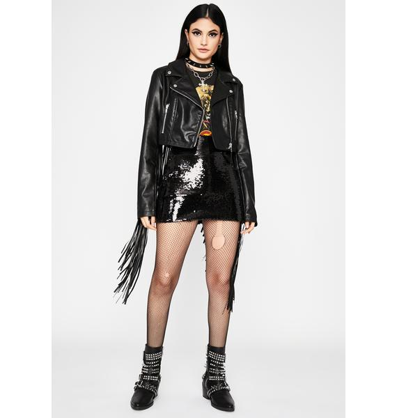 Wicked All Night Party Sequin Skirt