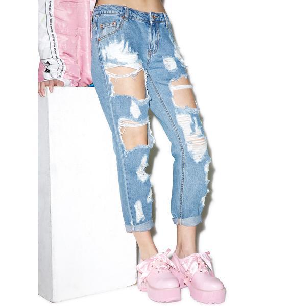 Collision Boyfriend Jeans