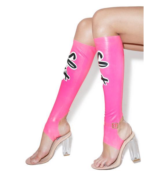 Meat Clothing Slut Stirrup Socks