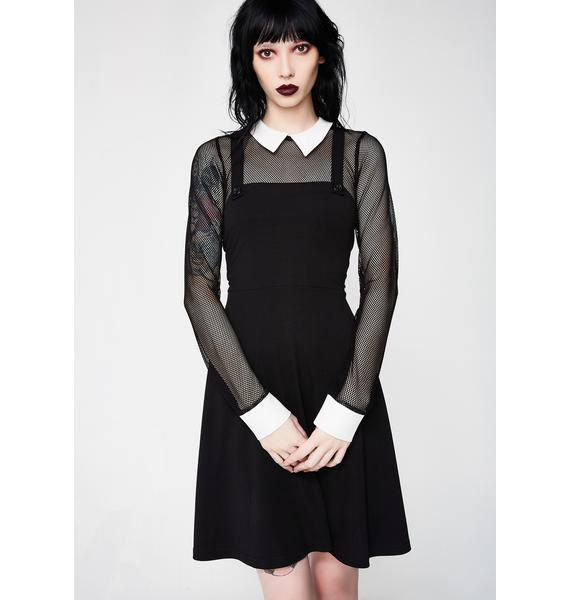 Emotionless Collar Dress