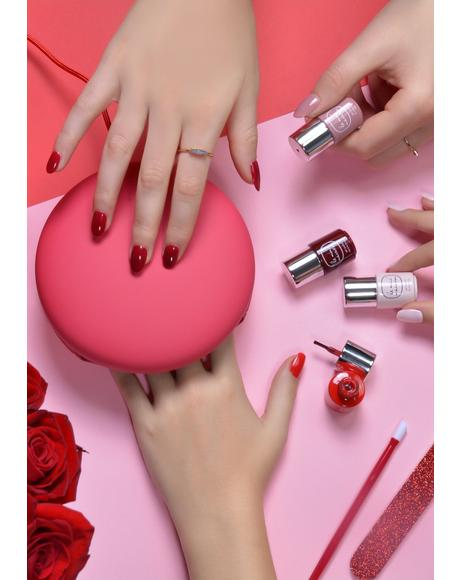 Le Maxi Rouge & Moi Deluxe Gel Manicure Set