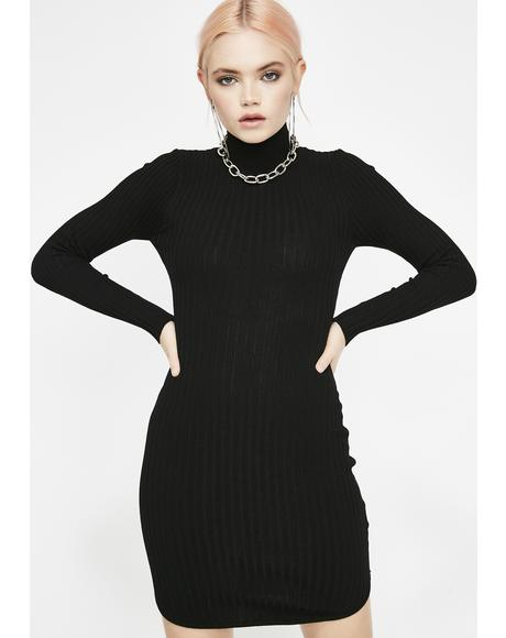 Sin Above It All Knit Dress