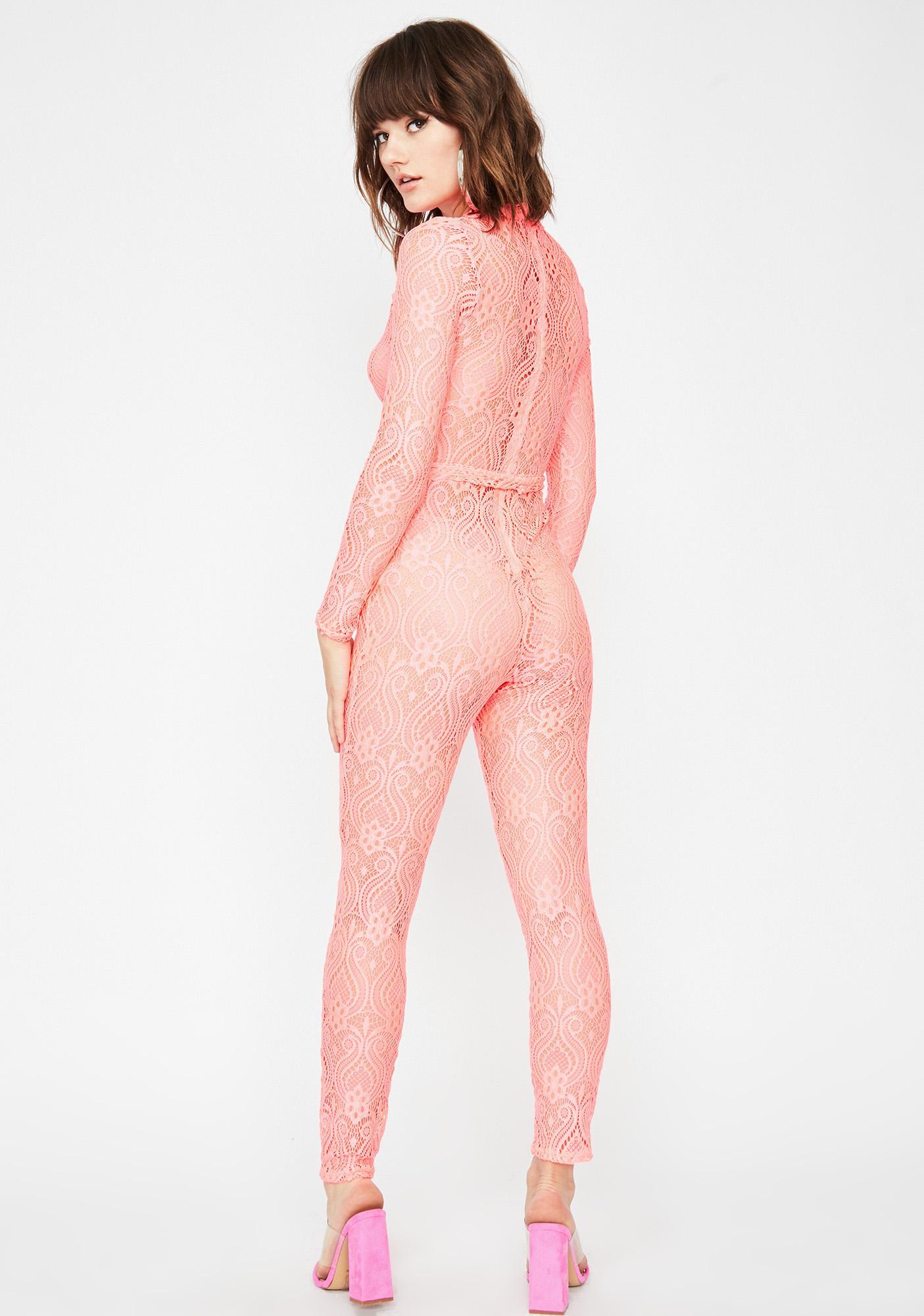 Lace A La Mode O-Ring Catsuit