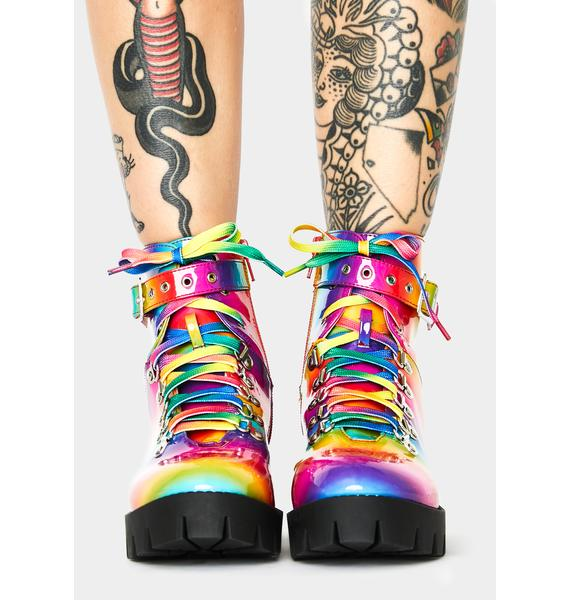 Sick Trip Combat Boots