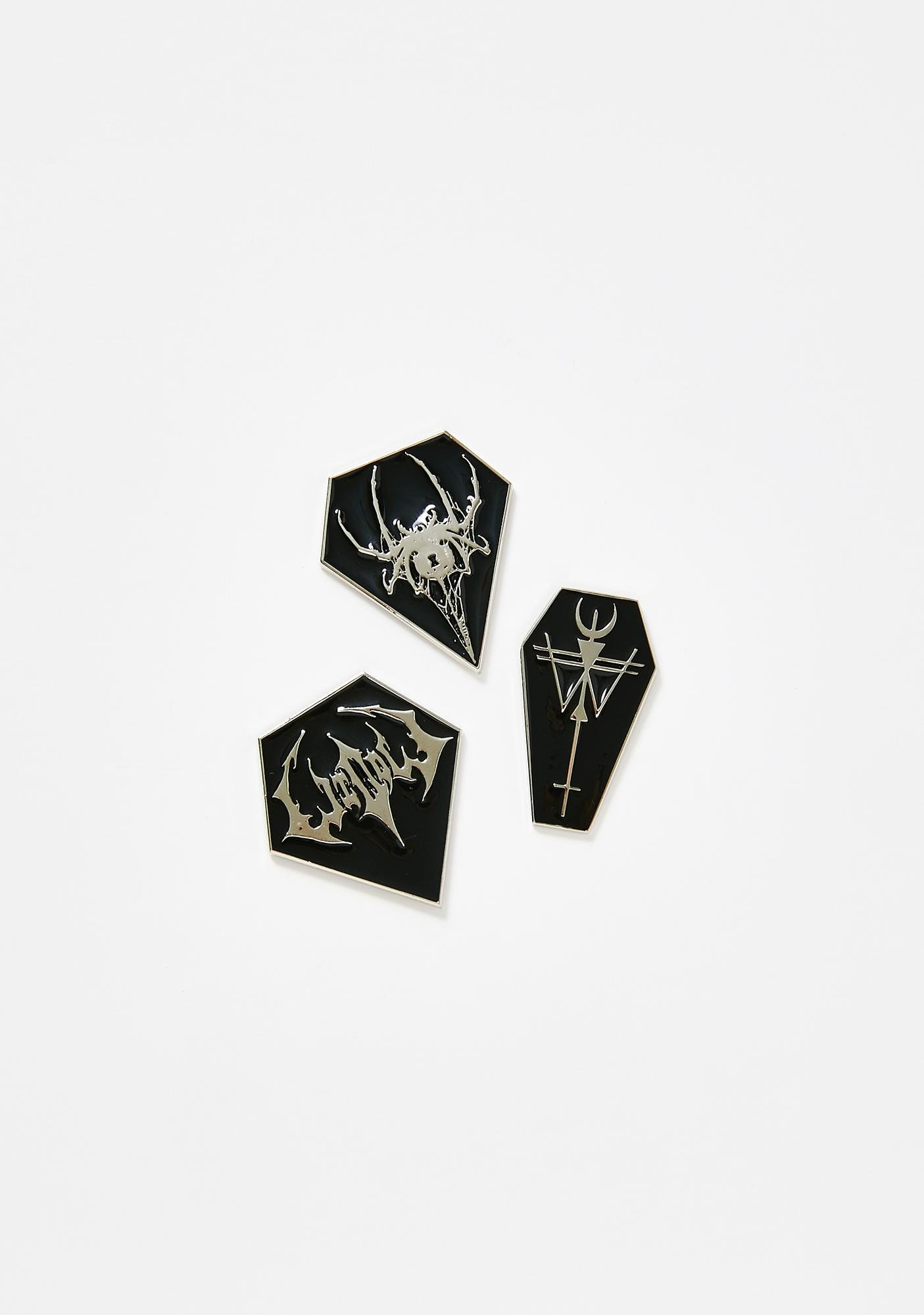 Widow Dark Destiny Enamel Pin Set