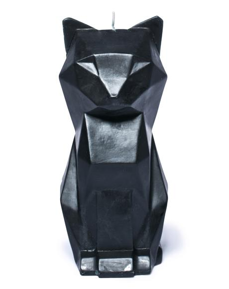Black Cat Kisa Candle
