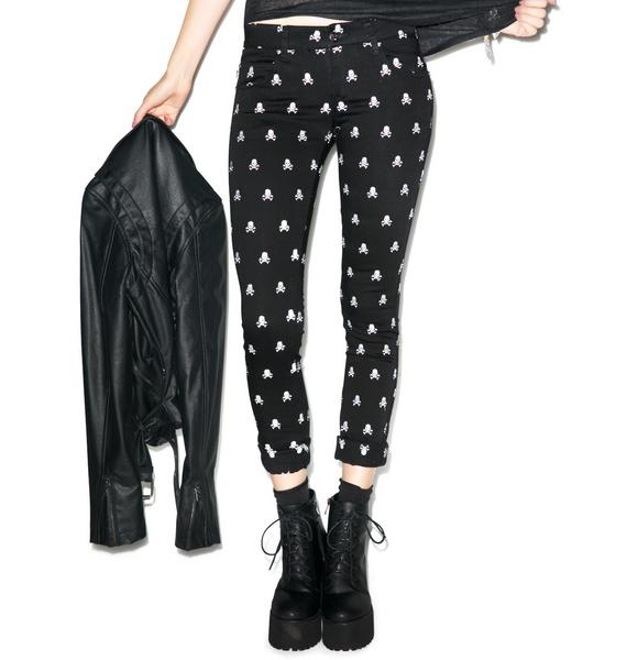 Tripp NYC Skull Jeans