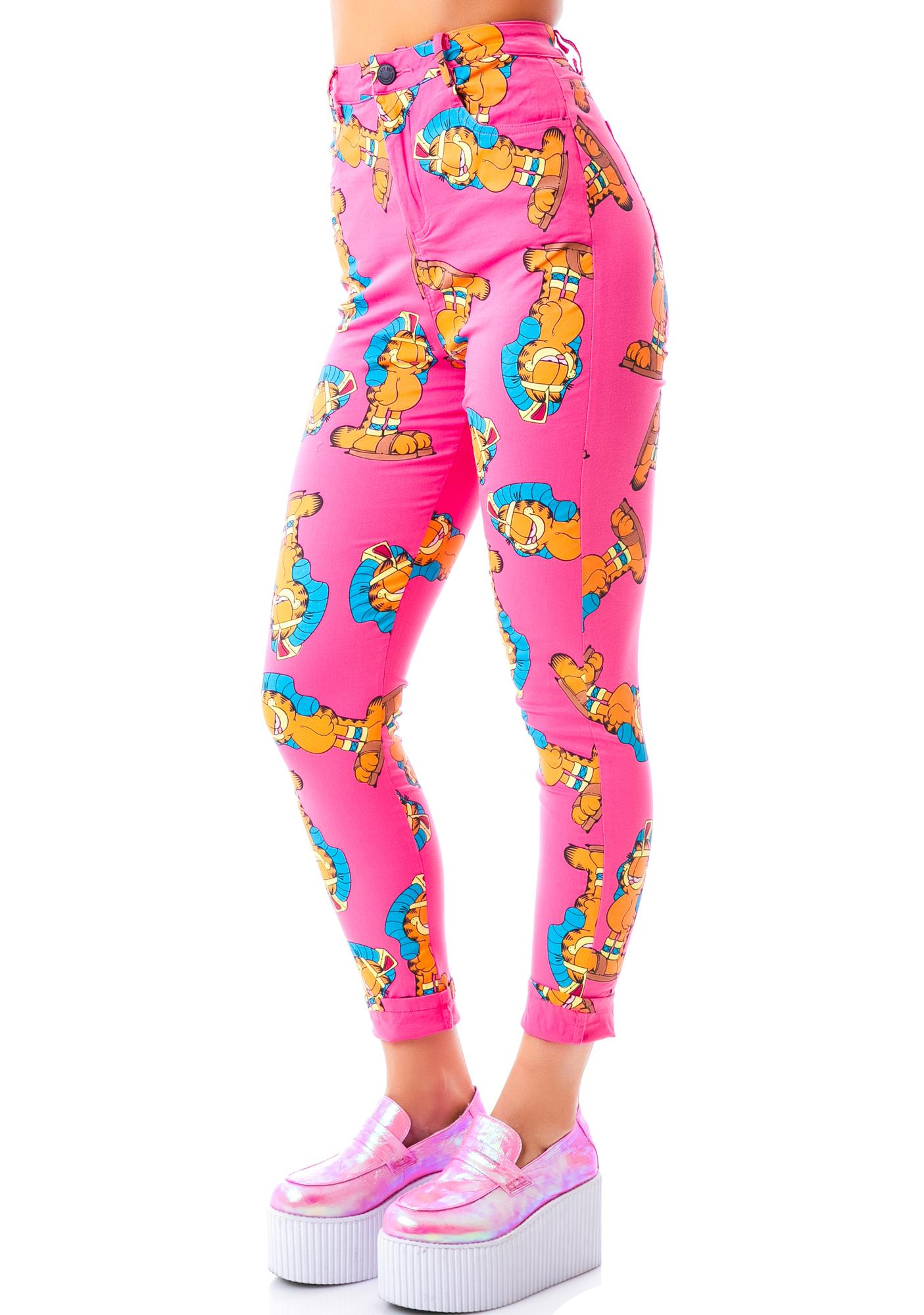 Lazy Oaf x Garfield Walk Like Pants