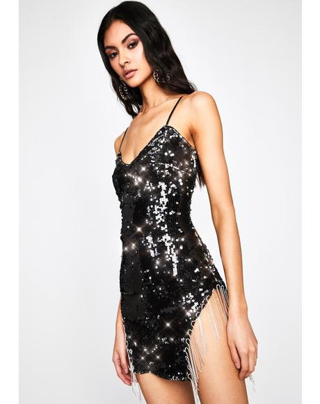 VIP Bottle Service Sequin Dress
