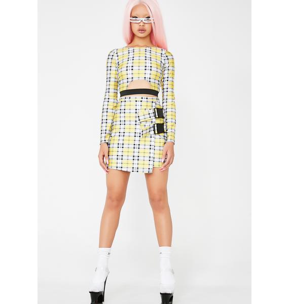 Ivy Berlin Snap It Skirt