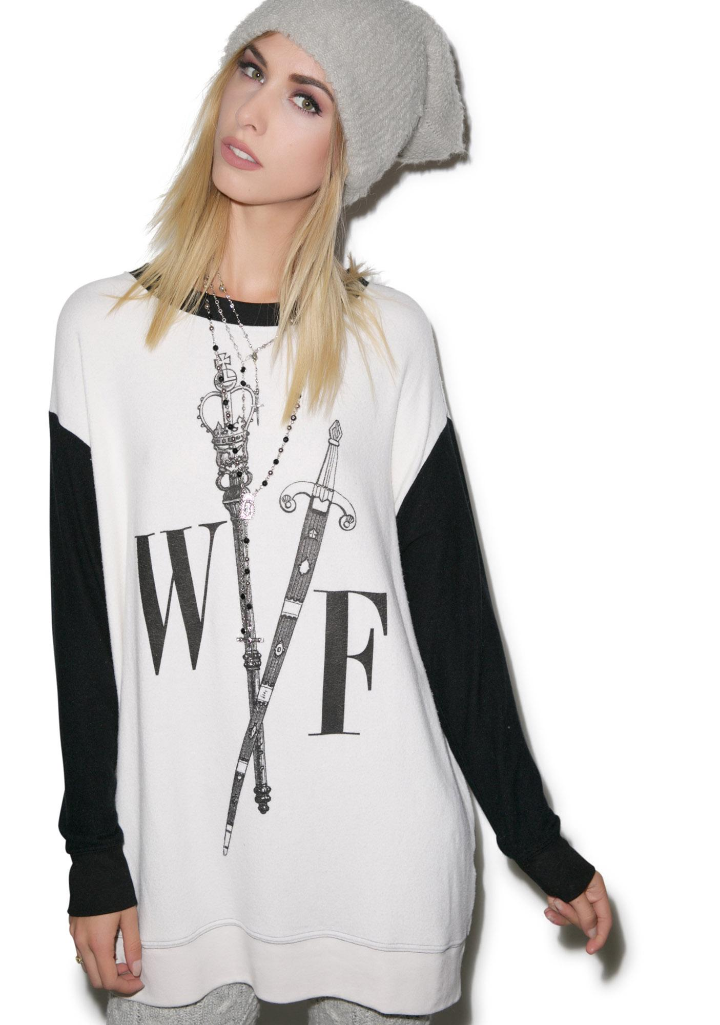 Wildfox Couture Queen's Court Roadtrip Sweater